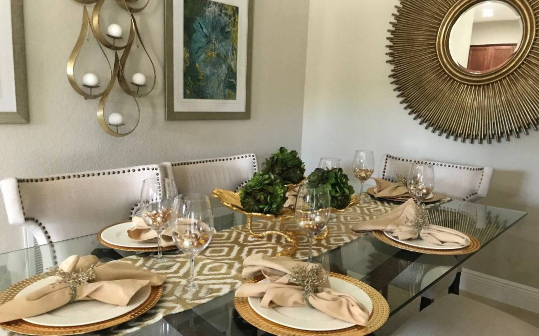 Dress a Room with Eye-Catching Tablescapes